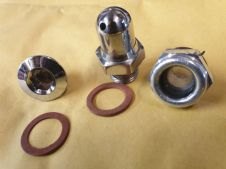 OIL DRAIN PLUG  AND BREATHER SET